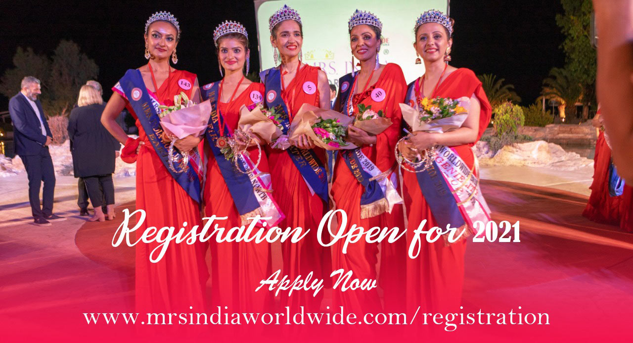 Mrs India Worldwide registration
